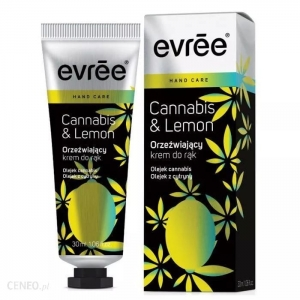 Evree Cannabis & Lemon krem do rąk 30ml