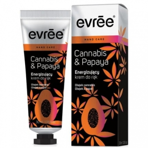 Evree Cannabis & Papaya krem do rąk 30ml