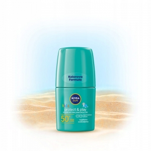 NIVEA SUN KIDS balsam roll-on zielony SPF 50