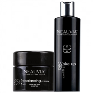 Neauvia Zestaw Wake Up Skin Tonic + Rebalancing Cream Rich