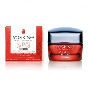 YOSKINE KIREI LIFTING krem na dzień i na noc Super V-Lifting 3 x retinol filler 50 ml